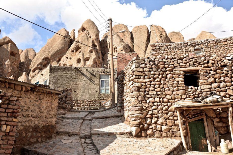 Kandovan im Norden des Iran